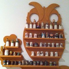 Owl thimble collection