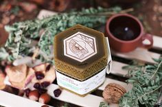 Beewax jars — branding and packaging of honey on Behance