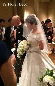 7月に恵比寿のウェスティンホテル東京さんで挙式ご披露宴の新婦さんより、当日のお写真をいただきましたので、ご紹介します。挙式のときのご様子です。お父様と歩ま...