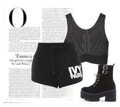 """""""BEAUTIFUL STRANGER"""" by meliimelii1997 ❤ liked on Polyvore featuring Ivy Park, Topshop, WithChic and Vanity Fair"""