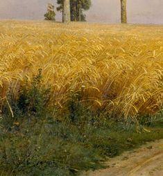 Detail from Rye, Ivan Shishkin , 1879