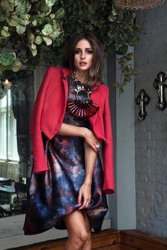 Olivia Palermo Graces Velvet's September 2012 Issue