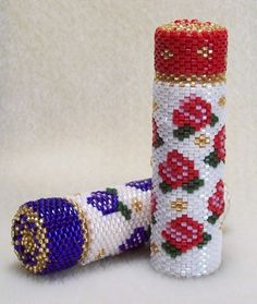 Love Knots and Roses Needle Case: Beading Tutorial