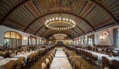 #landmark, #beer, #Germany, #traveling The Hofbräuhaus am Platzl is a beer hall in Munich, Germany, originally built in 1589 by Bavarian Duke Maximilian I as an extension of the Staatliches Hofbräuhaus in München brewery.
