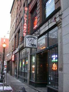 Favorite bar in the world- Theodore's, Springfield, MA