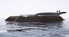 Czyzewski-Design released images of their new concept yacht that looks like it's straight out of Star Wars.
