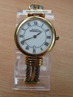 michelle herbelin watches   Ladies, Michel Herbelin ' Gold Watch photo