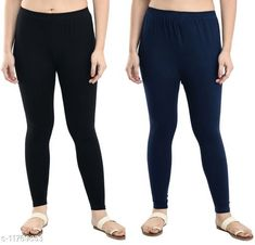 Leggings & Tights  Casual Ankle Length Leggings Combo of 2 Fabric: Cotton Lycra Pattern: Solid Multipack: 2 Sizes:  34 (Waist Size: 34 in, Length Size: 37 in)  36 (Waist Size: 36 in, Length Size: 37 in)  38 (Waist Size: 38 in, Length Size: 37 in)  28 (Waist Size: 28 in, Length Size: 37 in)  40 (Waist Size: 40 in, Length Size: 37 in)  30 (Waist Size: 30 in, Length Size: 37 in)  32 (Waist Size: 32 in, Length Size: 37 in)  Country of Origin: India Sizes Available: 28, 30, 32, 34, 36, 38, 40   Catalog Rating: ★3.9 (476)  Catalog Name: Gorgeous Feminine Women Leggings Combo of 2 CatalogID_2228800 C79-SC1035 Code: 953-11769653-768