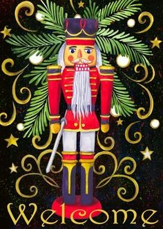 christmas nutcracker welcome Christmas Graphics, Christmas Clipart, Christmas Signs, Christmas Love, Christmas Pictures, Christmas Themes, Winter Christmas, Vintage Christmas, Christmas Decorations