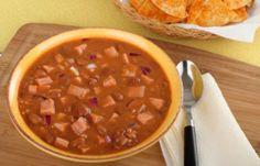 Fazolová polévka s uzeninou Chana Masala, Chili, Salsa, Ethnic Recipes, Soups, Food, Chile, Essen, Soup