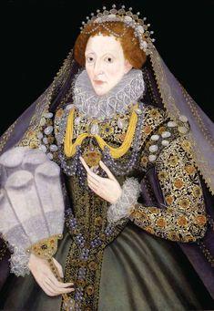 Queen Elizabeth I with a fan, Bristol Museums