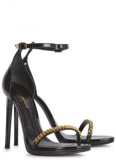 Black patent leather - Saint Laurent