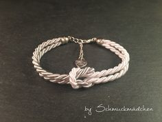 Armband Weiß Grau