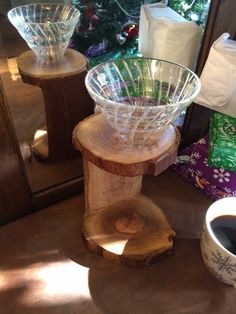 Red Gum Eucalyptus Pour Over Stand | Redemption Woodwork Coffee Care Package