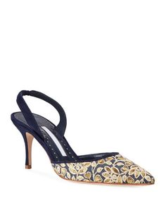 Shop designer heels for women at Bergdorf Goodman. Step up into a high end world with these brand name pumps and heels that are worth it all. Satin Pumps, Patent Leather Pumps, Platform Stilettos, Stiletto Heels, Manolo Blahnik Hangisi, Designer Heels, Slingback Pump, Fashion Heels, Luxury Shoes