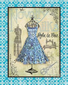 I uploaded new artwork to plout-gallery.artistwebsites.com! - 'French Dress Shop-B1' - http://plout-gallery.artistwebsites.com/featured/french-dress-shop-b1-jean-plout.html via @fineartamerica