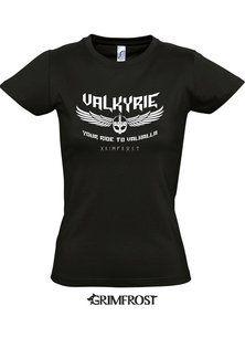 76eac6f17399 Valkyrie Girlie-Shirt Bundle Honda Valkyrie