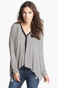 Painted Threads Hooded Oversized Cardigan (Juniors) available at #Nordstrom Love this for the Fall!