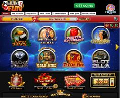 house of fun casino slots on facebook