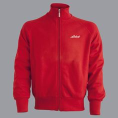 allstar INTERNATIONAL - Sweater with front zip and embroidered allstar-Logo. Available in red and black colour