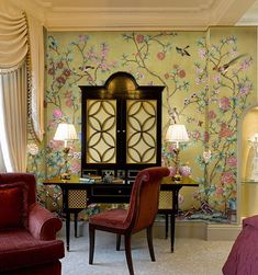 The Enchanted Home: Crazy for Chinoiserie and we have a winner!