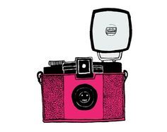 the elusive mr pink (diana camera) - print by Candidate on Etsy $23