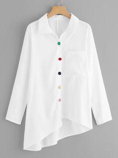 Plus Size Blouses, Plus Size Tops, Blouse Styles, Blouse Designs, Spring Shirts, White Shirts, Shirt Blouses, Blouses For Women, Clothes