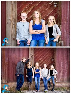 Provo Family Photography - Urban, family of five (5) - Silverstrand Photography