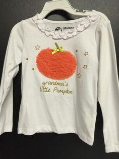 Girls Fall Shirts Size 3T Pumpkin Tulle Halloween Grandmas Little Thanksgiving #HolidayEdition #ThanksgivingHalloweenDressyEverydayHoliday