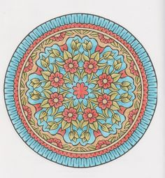 Mystical mandalas 001 by Creative Haven/Dover