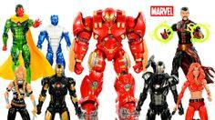 Marvel Legends Hulkbuster Series Infinite Avengers Series 3 Unboxing w/ Iron Man War Machine - http://www.comics2film.com/marvel/superheroes/iron-man/marvel-legends-hulkbuster-series-infinite-avengers-series-3-unboxing-w-iron-man-war-machine/ #comicmovies #superheroes #marvel #dc