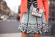 #SoDVF dress and bag on #SongofStyle