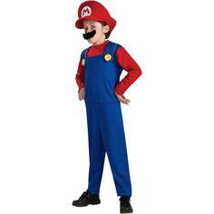 Mario Toddler/Child Boy Costume