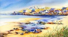 Jonathan Wheeler, watercolour artist based in Findhorn Scotland, specialising in Scottish castles and scenes including Edinburgh. Limited edition and signed edition prints for sale - commissions undertaken. Scottish Castles, Watercolor Print, Prints For Sale, Watercolours, Larger, Artist, Paintings, Outdoor, Image
