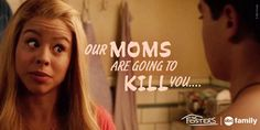 """S2 Ep10 """"Someone's Little Sister"""" - Will Lena and Stef find out about this? #Thefosters"""