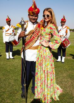 Millie Mackintosh at the British Polo Day India event.