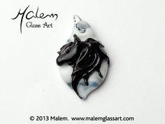 Equine Art by Malem Glass Artist Equine Art, Glass Jewelry, Glass Art, Sculptures, Charms, Horses, Beads, Pendant, Artist