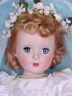 "18"" Special Bride, 1950 Old Barbie Dolls, Old Dolls, Antique Dolls, Vintage Dolls, Doll Toys, Baby Dolls, Beautiful Dolls, Beautiful Bride, Forever My Girl"