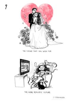 9 truths abt being single comic by c-cassandra (click through for full) <This is completely me. Cute Comics, Funny Comics, C Cassandra Comics, Cassandra Calin, Sarah Andersen, 4 Panel Life, Girl Struggles, Funny Memes, Hilarious