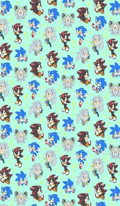 Sonic Shadow and Silver iPhone Wallpaper. The hedgehogs.