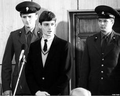 """September 2, 1987: German Mathias Rust """"goes on trial in Moscow [USSR] for illegally landing near Red Square."""""""