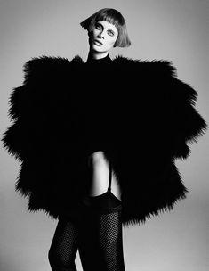Kristen McMenamy  'The Role Model'  i-D Magazine, Fall 2012  Photos by Daniele + Iango