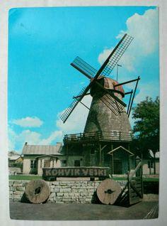 Estonian city Kuressaare Veski Tavern Windmill Soviet Photo Postcard 1979   eBay