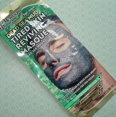 Magnificent Road: - - Product Review | Montagne Jeunesse | Dead Sea Mud Tired Skin Reviving Face Masque For Men - -