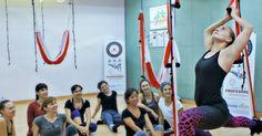 Barcelona, Catalunya, Curs Oficial AeroYoga (Ioga Aeri) del 24 al 30 abril 2016 | AEROYOGA® INTERNACIONAL BARCELONA, #aeroyoga #yogaaereo #aerialyoga #wellness #bienestar #exercice #ejercicio #belleza #helalth #salud #teachertrainign #madrid #barcelona #sevilla #valencia #paris #france #portugal #lisboa #porto #italia #roma #df #USA #canada #argentina #chile #aeroyogabarcelona #aeropilatesbrasil #aeropilatesmadrid #aeropilatesbarcelona #iogaaeri #aeroyogacatalunya