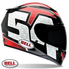 Bell RS-1 Corsa Red Helmet