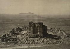 1860s :: Martand Sun Temple, Kashmir      (photo by John Burke )