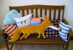 fox cushion from Souvenir