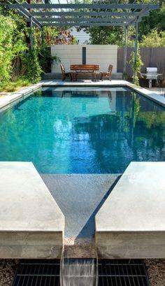 Pergola over pool :)