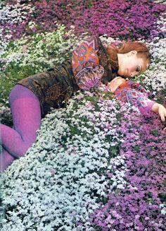 Maud Adams by Norman Parkinson, 1968.